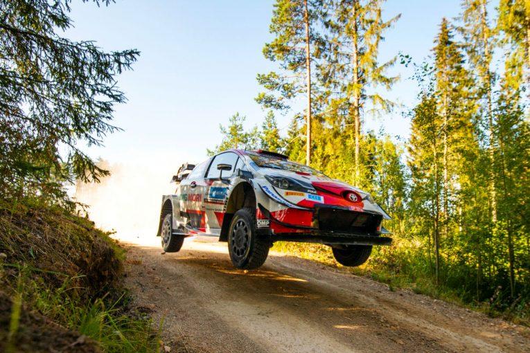 ラリー/WRC | 【順位結果】2021年WRC第7戦エストニア SS24後