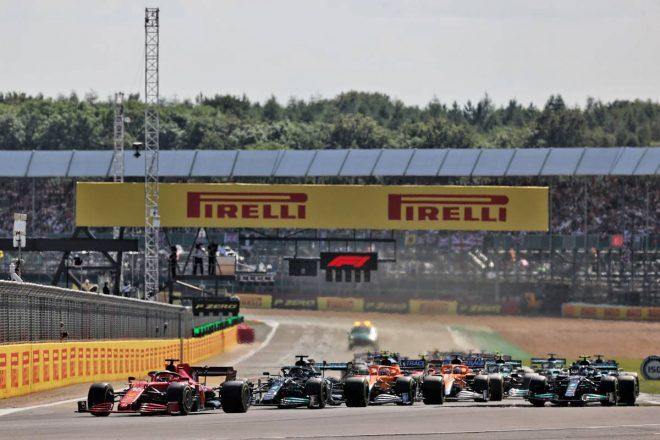 2021年F1第10戦イギリスGP リスタート