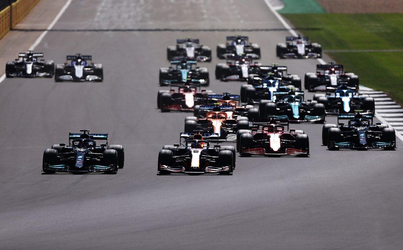 2021年F1第10戦イギリスGP決勝スタート