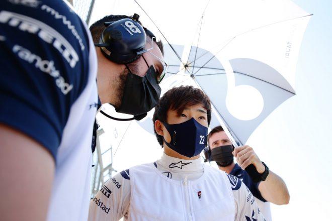 2021年F1第10戦イギリスGP 角田裕毅(アルファタウリ・ホンダ)