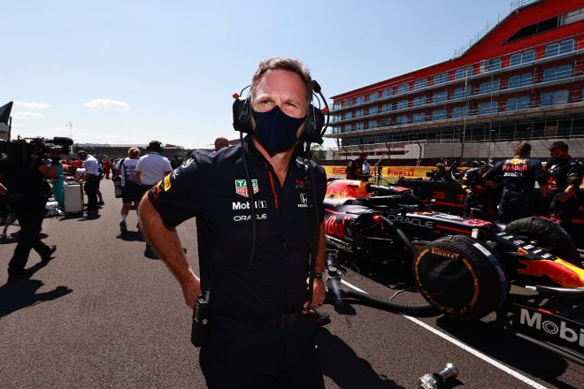 2021年F1第10戦イギリスGP クリスチャン・ホーナー(レッドブル・レーシング代表)