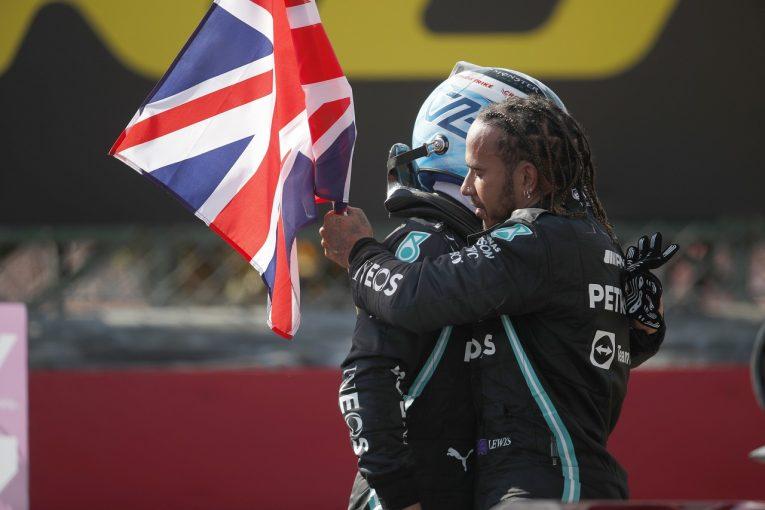 F1   ハミルトン「接触が起きた場合はどちらにも責任がある」メルセデス/F1第10戦決勝