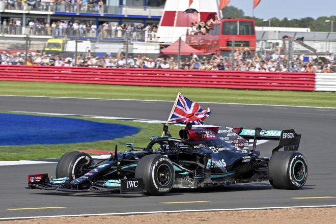 2021年F1第10戦イギリスGP ルイス・ハミルトン(メルセデス)が優勝