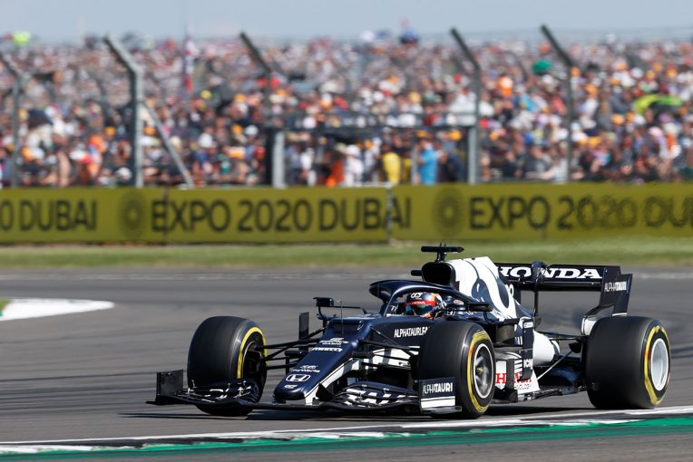 F1   【角田裕毅F1第10戦密着】前半は無理な追い抜きを仕掛けずタイヤを温存。ピットストップで順位を上げ、入賞をもぎ取る