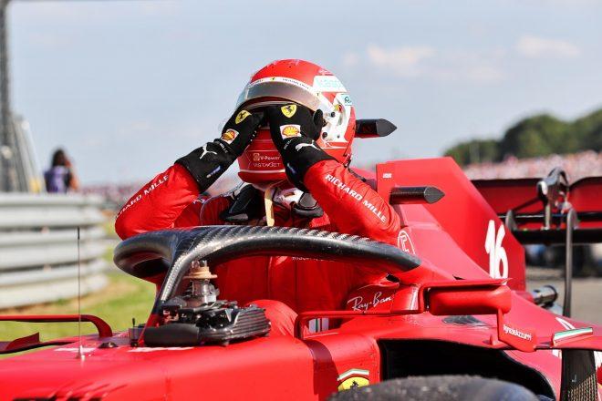 2021年F1第10戦イギリスGP シャルル・ルクレール(フェラーリ)が2位獲得