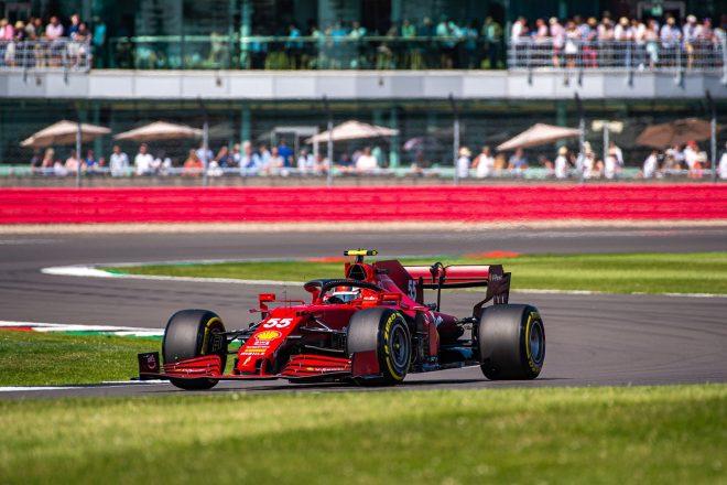2021年F1第10戦イギリスGP カルロス・サインツJr.(フェラーリ)