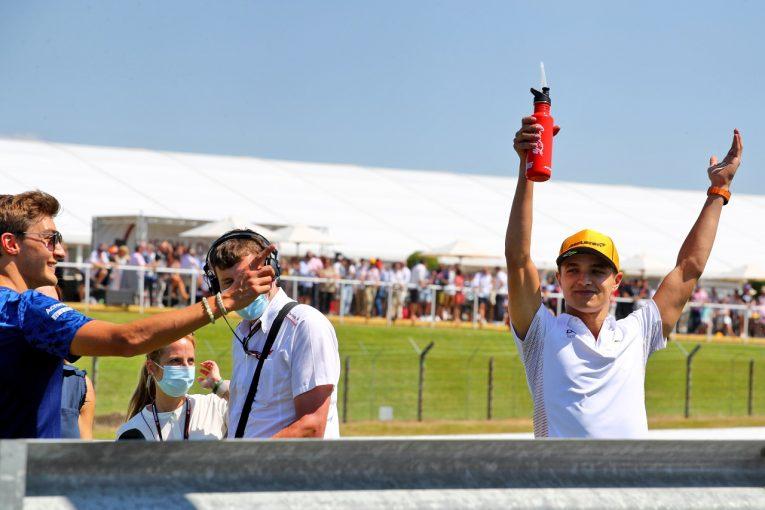 F1 | ノリス「3位を争えなかったのは悔しいけれど、ファンのおかげで特別な週末に」マクラーレン/F1第10戦決勝