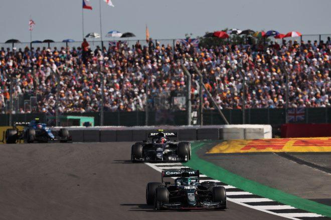 2021年F1第10戦イギリスGP ランス・ストロール(アストンマーティン)