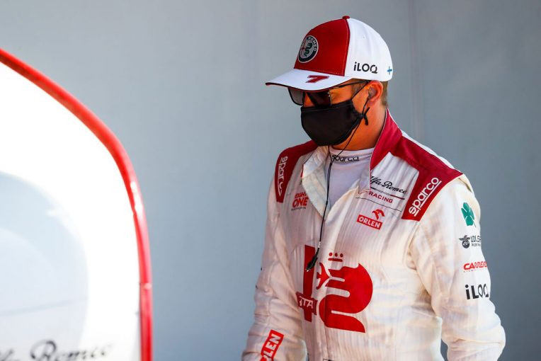 F1   ライコネン「ペレスといいバトルをしていたが、急にスペースがなくなった」:アルファロメオ F1第10戦決勝