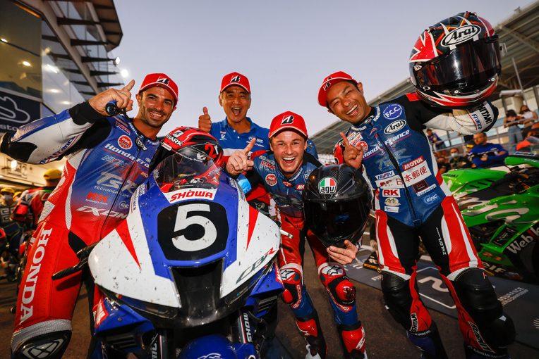 MotoGP | TSRホンダ優勝。BMW、ヨシムラ、YARTヤマハ、SRCカワサキが首位走行中にトラブルも挽回/2021EWC第2戦エストリル12時間