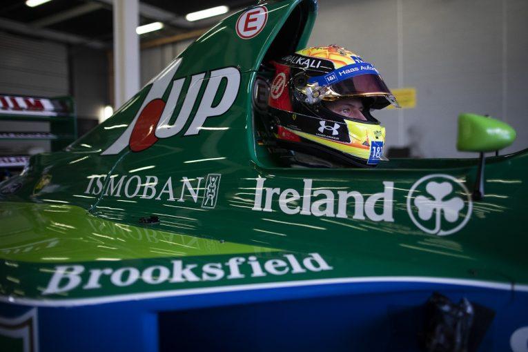 F1 | 父ミハエル・シューマッハーのF1デビューから30年。ミックが1991年型ジョーダン191でデモラン