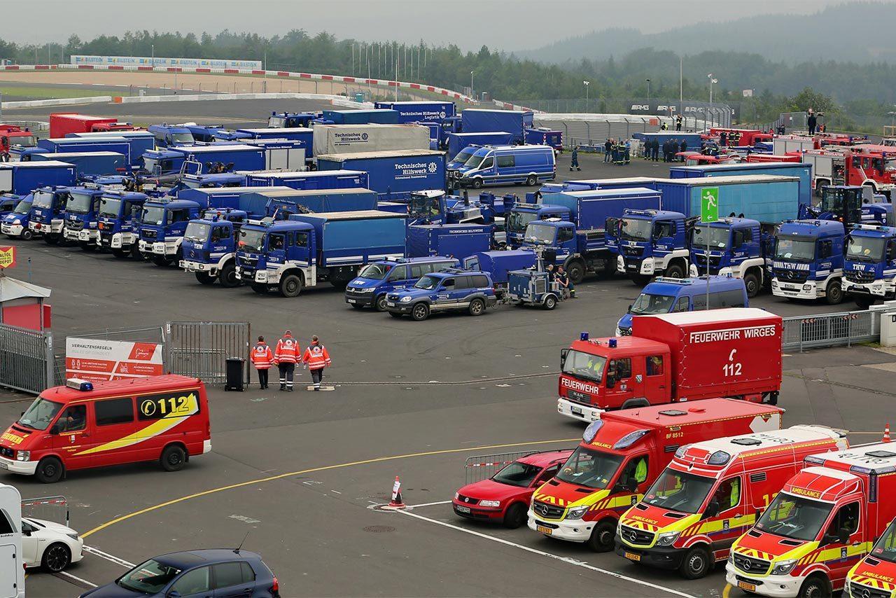 豪雨災害に見舞われた近郊。ニュルブルクリンクやモータースポーツ界が支援に動く