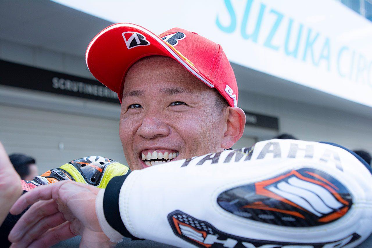 中須賀克行(YAMAHA FACTORY RACING TEAM)/2021全日本ロード第5戦MFJ-GP鈴鹿