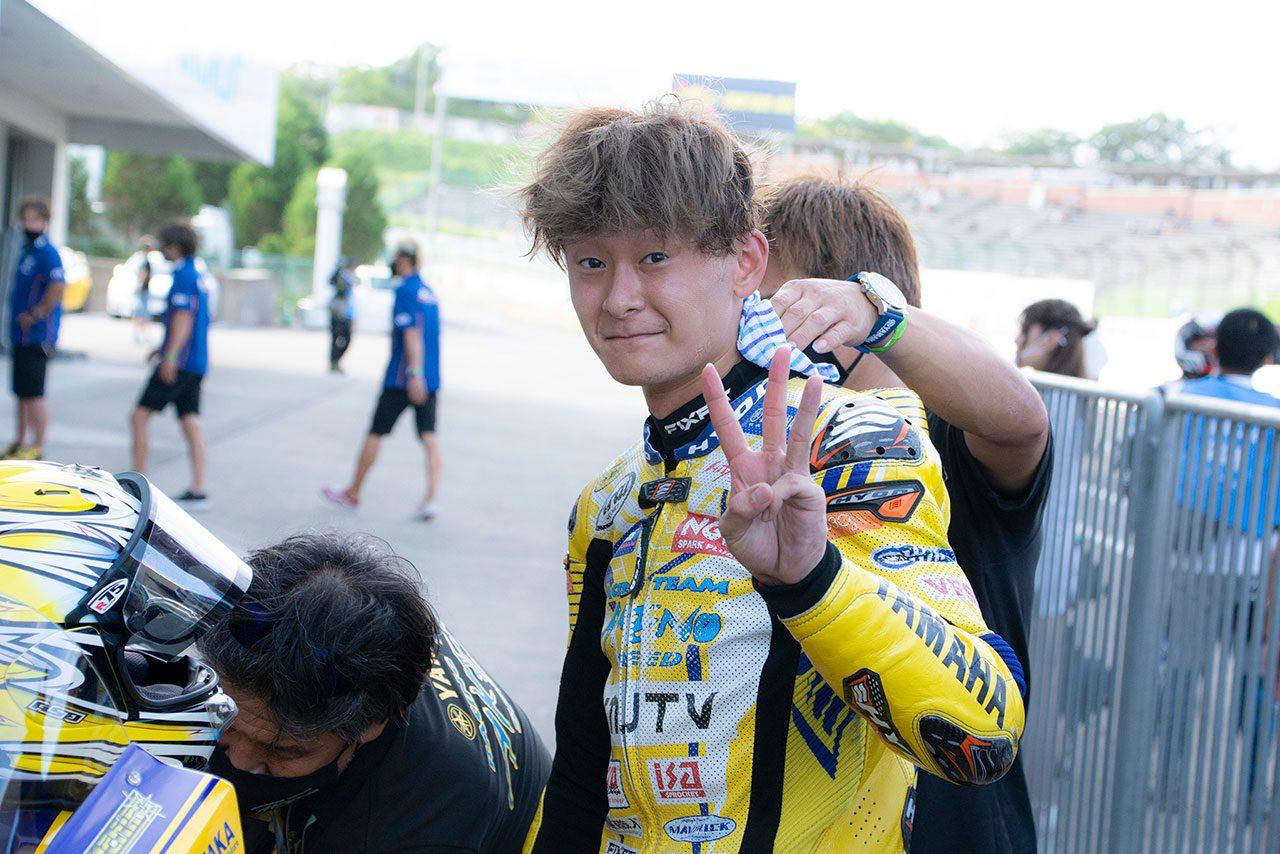 南本宗一郎(AKENO SPEED・YAMAHA)/2021全日本ロード第5戦MFJ-GP鈴鹿