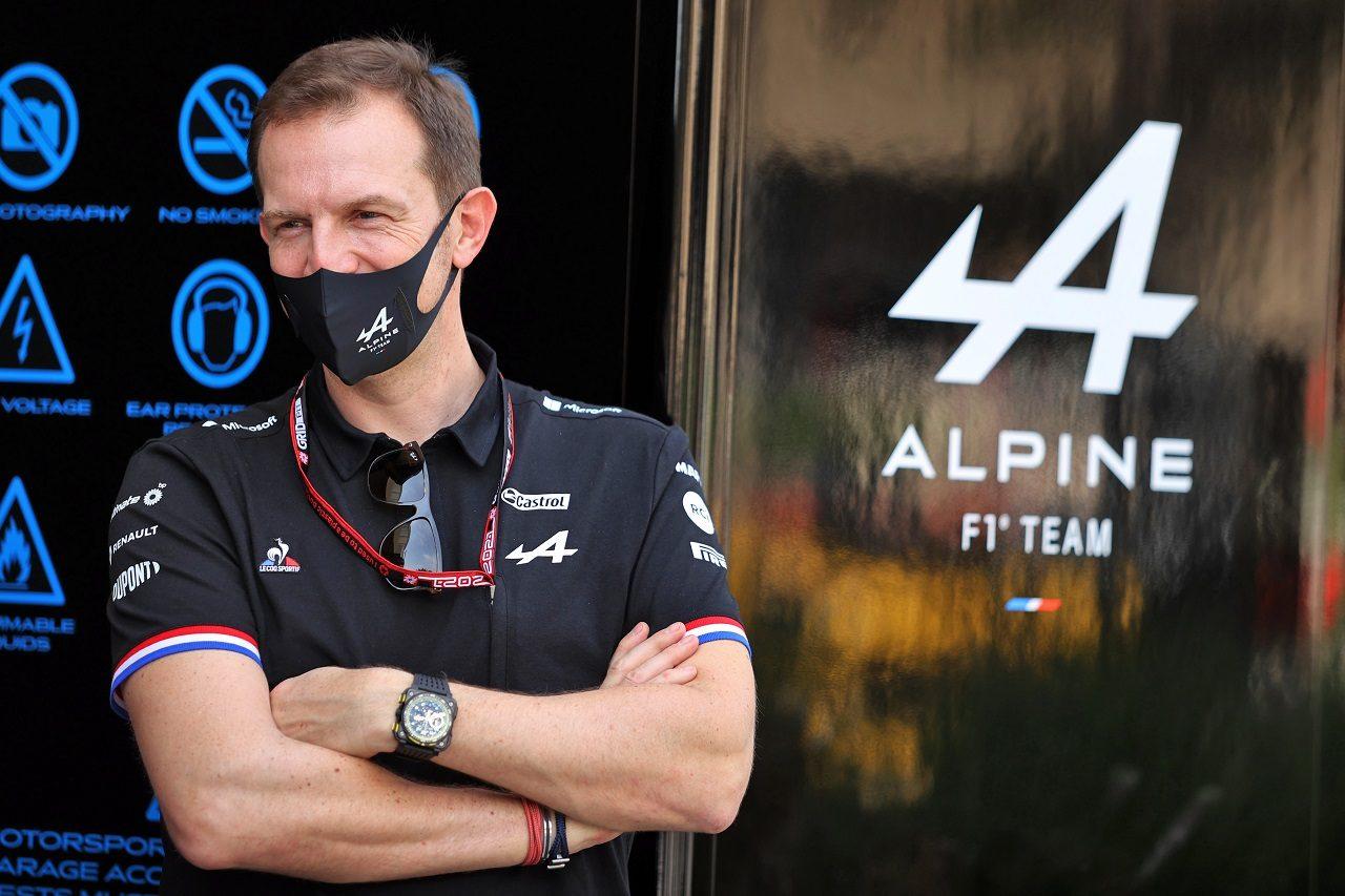 アルピーヌ・レーシングSASのCEOローラン・ロッシ