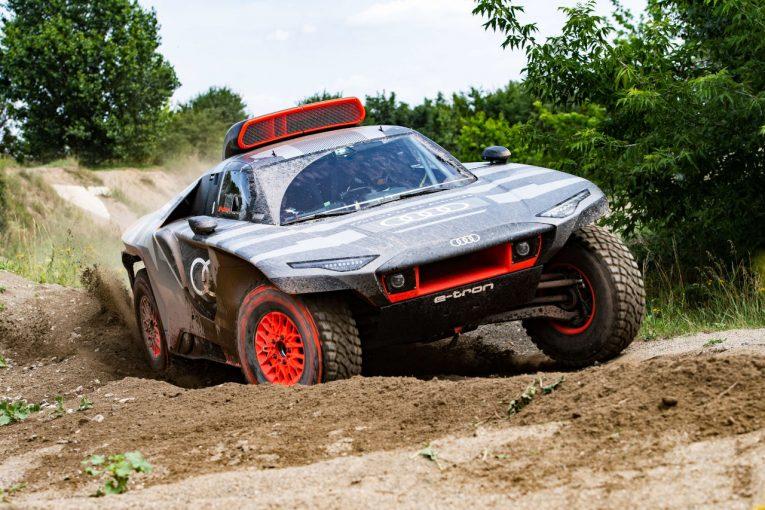 ラリー/WRC | 『アウディRS Q e-tron』が始動。2022年のダカールに挑む電動ラリーカー