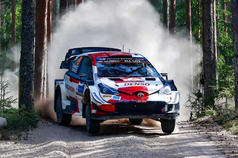 ラリー/WRC   勝負の一戦でWRC最年少優勝記録を更新したロバンペラ。2022年以降はチャンピオン争いの主役か