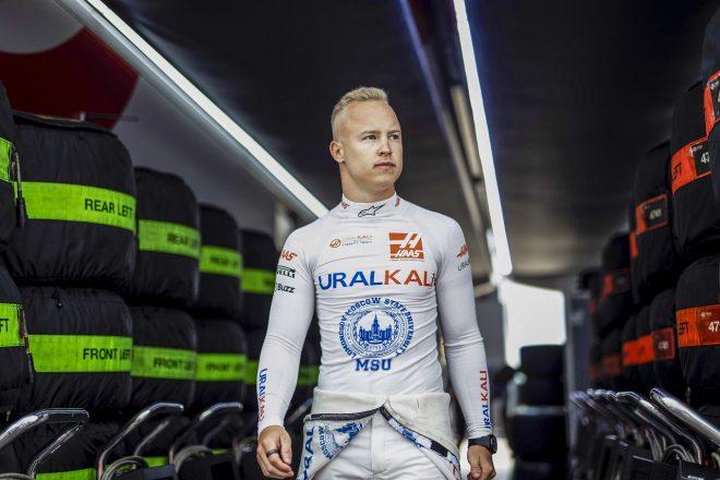 2021年F1第10戦イギリスGP ニキータ・マゼピン(ハース)