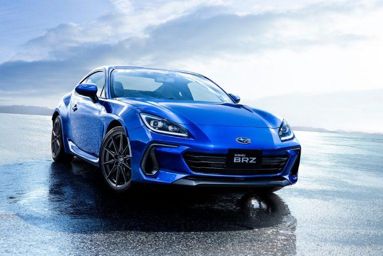 クルマ | スバル、新型BRZ発表。GR 86開発陣と切磋琢磨し、究極のFRピュアスポーツカーを実現