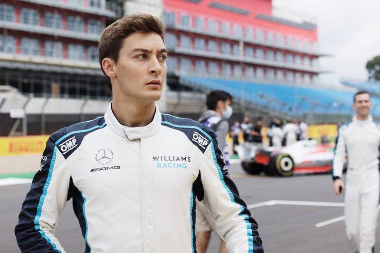 F1   ラッセル、レッドブルF1への移籍を否定「間違いなく2022年もメルセデスPUを搭載したマシンに乗る」
