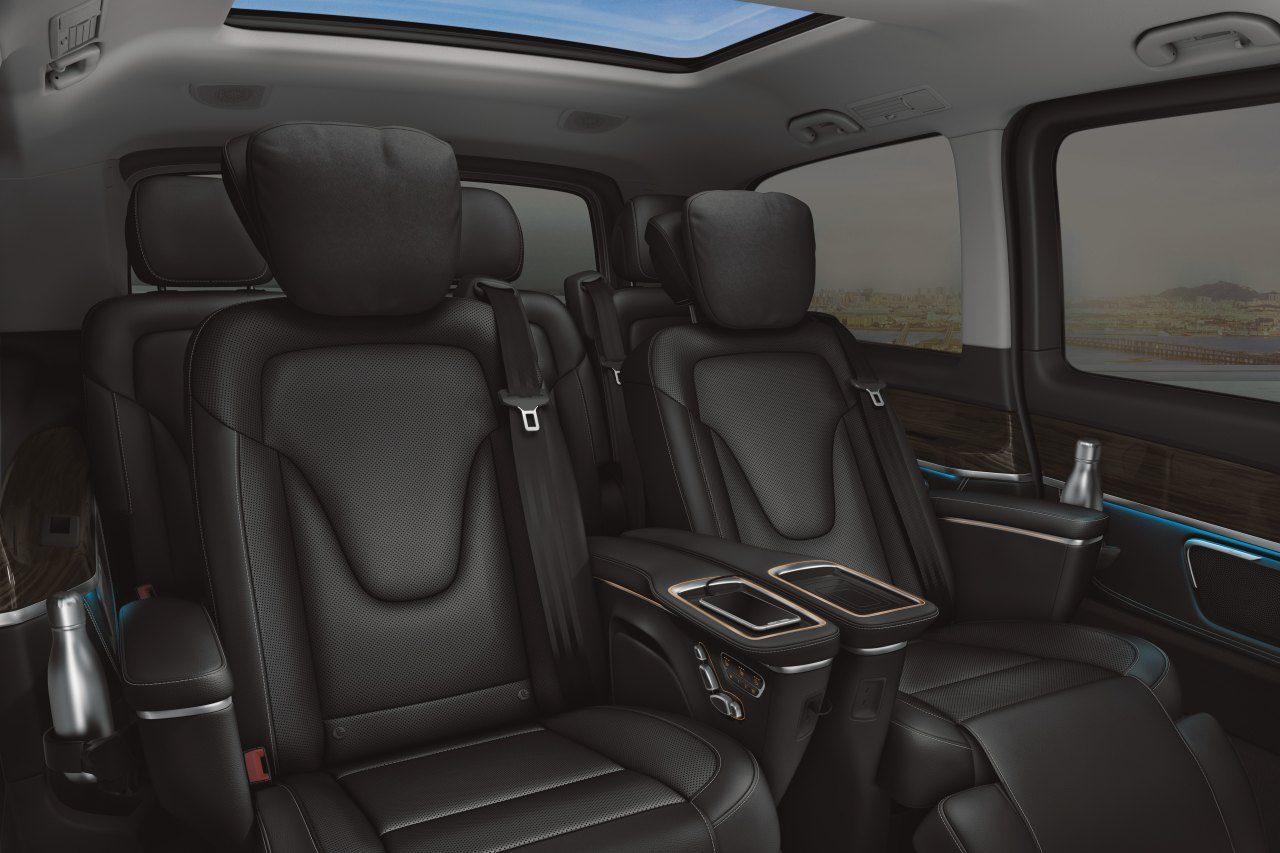 メルセデス・ベンツ、ミニバン『Vクラス』を一部改良。先進安全装備とシートの機能性が向上