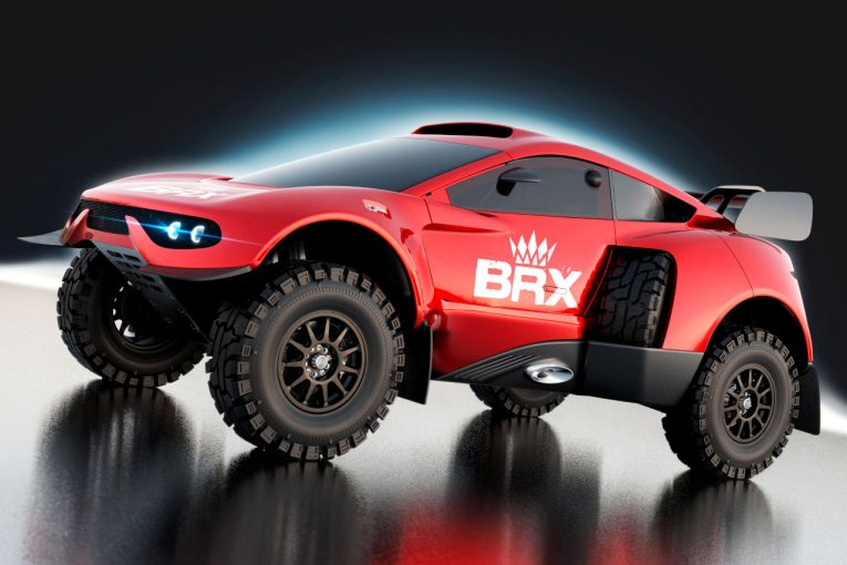 """ラリー/WRC   BRX、プロドライブ・ハンターを再設計。""""T1+""""として2022年ダカールラリーに投入"""