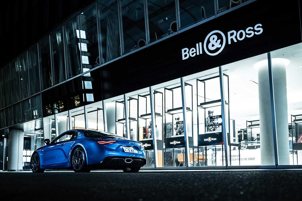 BELL&ROSS、アルピーヌF1のグラフィックから着想を得てデザインした時計を限定発売