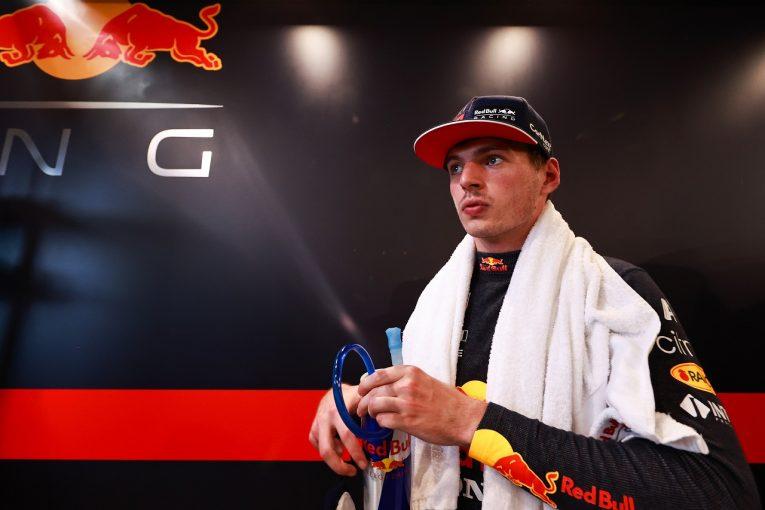 F1   フェルスタッペン3番手「調整がうまくいかなかったが心配はしていない。PUが無事でうれしい」F1第11戦金曜