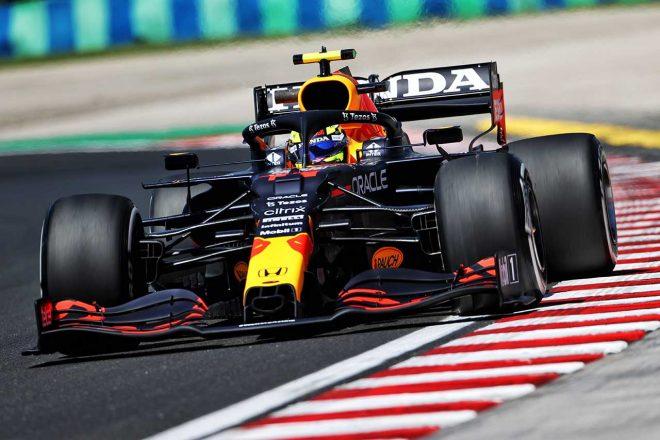 2021年F1第11戦ハンガリーGP セルジオ・ペレス(レッドブル・ホンダ)