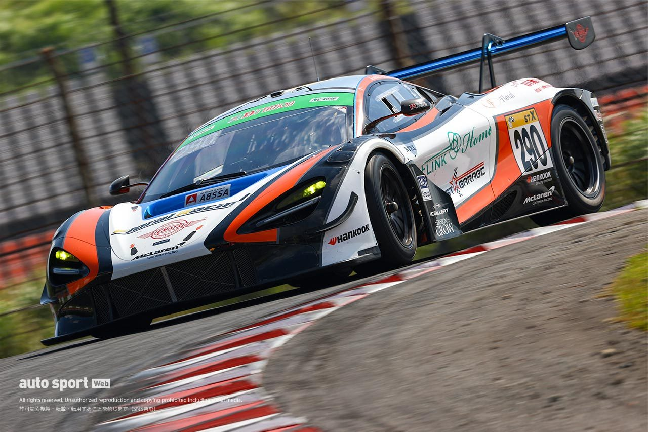 PC Okazaki 911 GT3Rが開幕戦以来のポールポジション獲得【S耐第4戦オートポリス/公式予選】