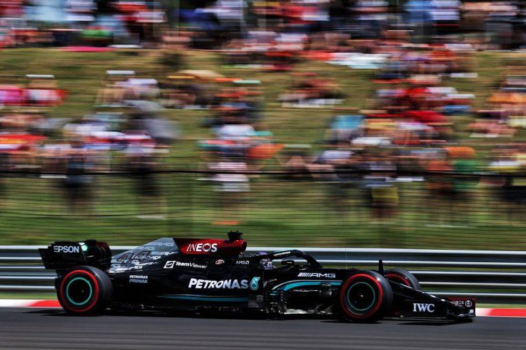 F1 | ハミルトンが首位、フェルスタッペンが2番手に続く【タイム結果】F1第11戦ハンガリーGPフリー走行3回目