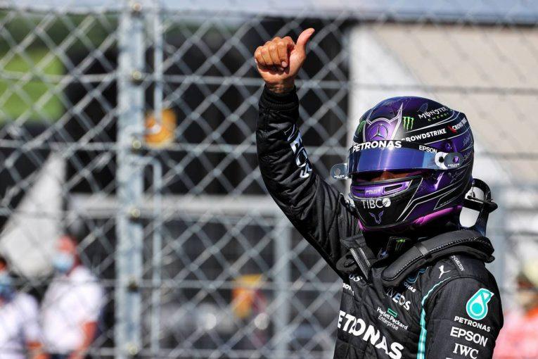F1 | ハミルトンが通算101回目のポール獲得。フェルスタッペン3番手、角田はQ1敗退16番手【予選レポート/F1第11戦】