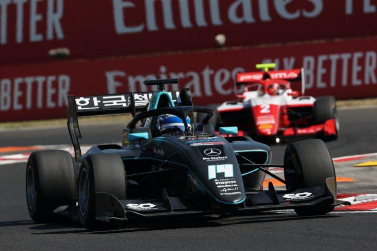 海外レース他 | ナニーニが独走で初優勝。岩佐歩夢は10位入賞で手堅くポイント獲得【FIA-F3第4戦ハンガリー レース2】