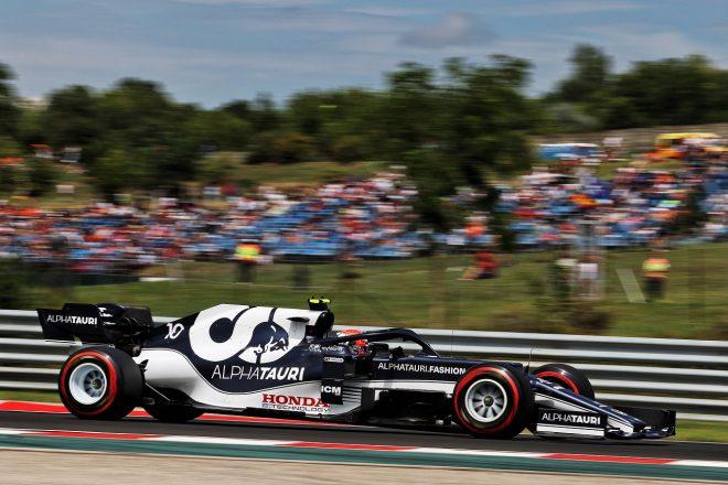 2021年F1第11戦ハンガリーGP ピエール・ガスリー(アルファタウリ・ホンダ)