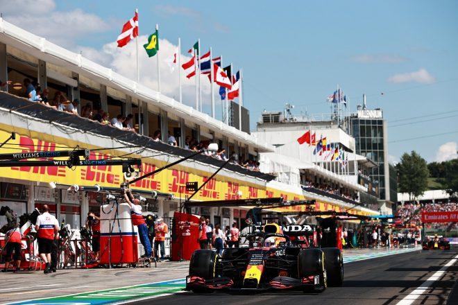 2021年F1第11戦ハンガリーGP マックス・フェルスタッペン(レッドブル・ホンダ)