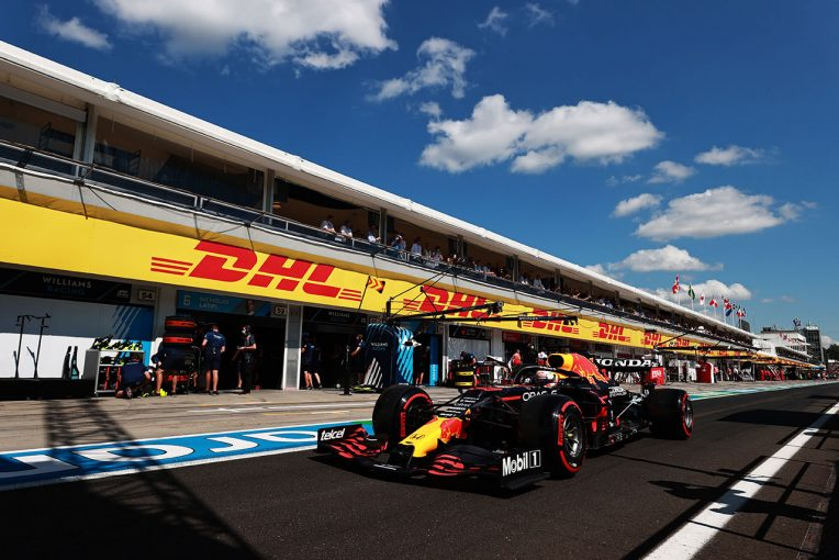 F1 | PU交換のフェルスタッペンは3番手スタート。角田は16番手から/2021年F1第11戦ハンガリーGPグリッド