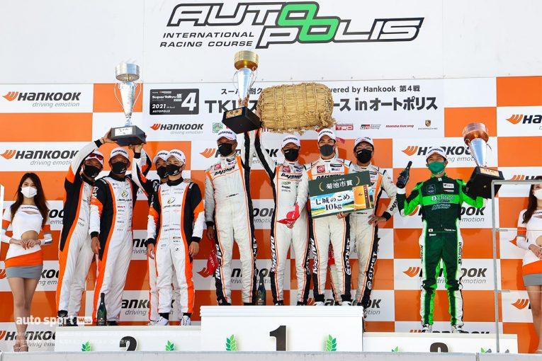 国内レース他   DAISHIN GT-Rがまさかの失格。Floral UEMATSU 720Sが優勝【S耐第4戦オートポリス/決勝】