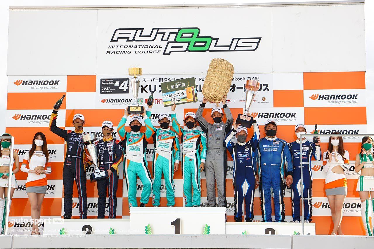 DAISHIN GT-Rがまさかの失格。Floral UEMATSU 720Sが優勝【S耐第4戦オートポリス/決勝】