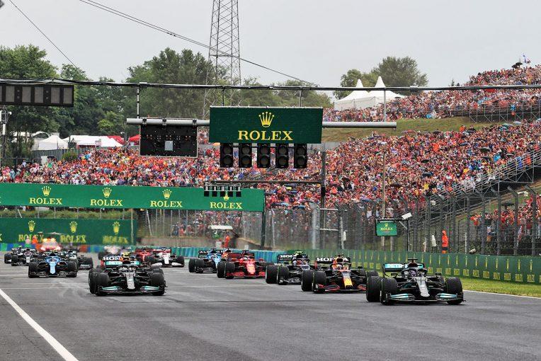 F1   【ポイントランキング】F1第11戦ハンガリーGP終了時点