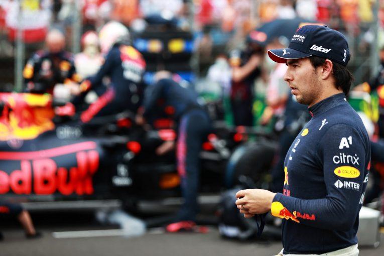 F1 | リタイアのペレス「ボッタスのミスで大打撃。エンジンを失ったかもしれない」レッドブル・ホンダ/F1第11戦決勝