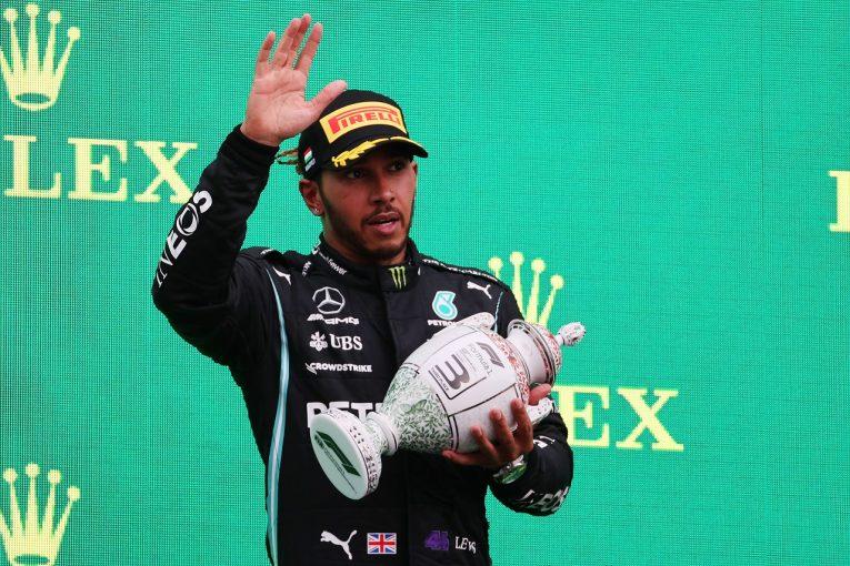 F1   ハミルトン14番手から3位フィニッシュ。最後尾に落ちた戦略を「正しかった」とメルセデスは主張/F1第11戦決勝