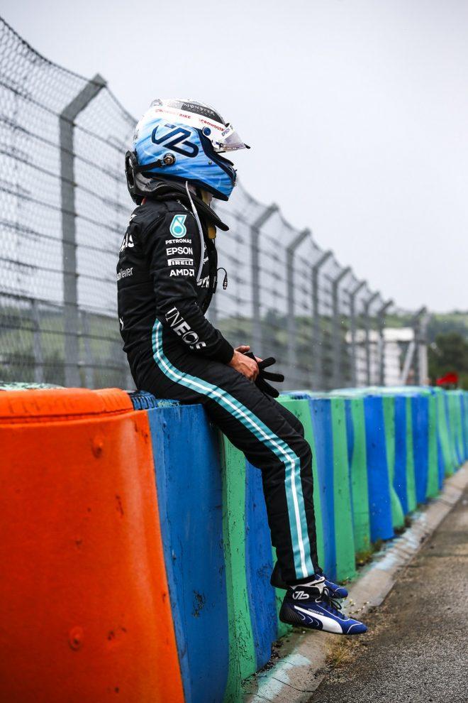 2021年F1第11戦ハンガリーGP バルテリ・ボッタス(メルセデス)が決勝でクラッシュ