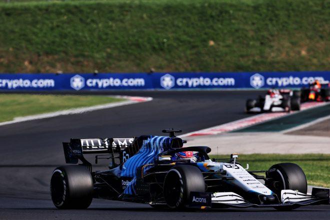 2021年F1第11戦ハンガリーGP ジョージ・ラッセル(ウイリアムズ)
