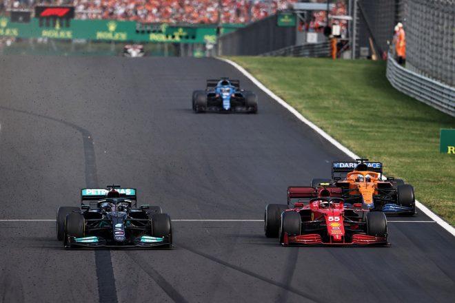 2021年F1第11戦ハンガリーGP カルロス・サインツJr.(フェラーリ)