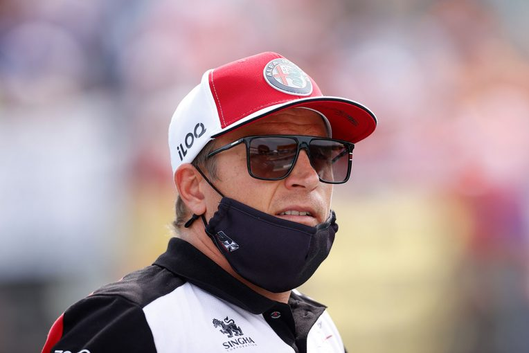 F1   ライコネン「リリースを合図する信号にトラブルがあり、マゼピンと接触した」:アルファロメオ F1第11戦決勝