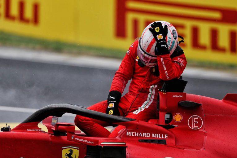F1 | ルクレール「悔しいとしか言いようがない。あの方向から誰かが来るなんて思わなかった」:フェラーリ F1第11戦決勝