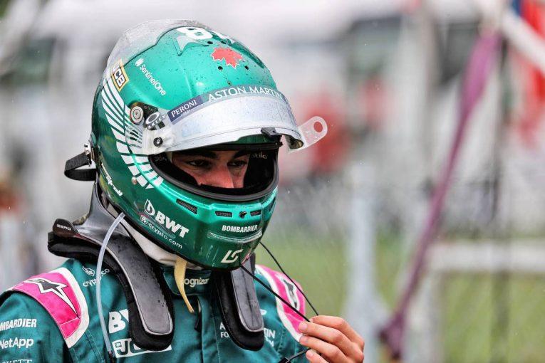 F1   ストロール「接触を避けようとしたが、ブレーキをロックアップさせてしまった」:アストンマーティン F1第11戦決勝