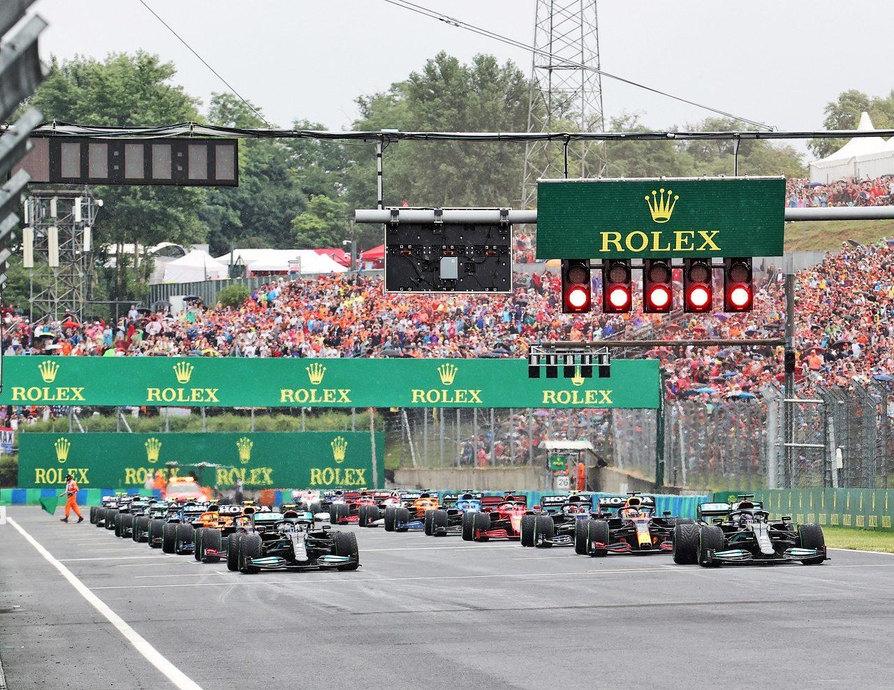 2021年F1第11戦ハンガリーGPスタート