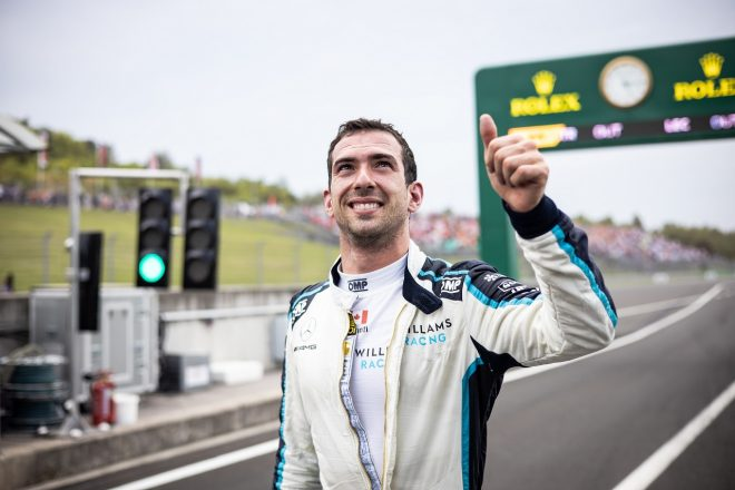 2021年F1第11戦ハンガリーGP ニコラス・ラティフィ(ウイリアムズ)が初入賞