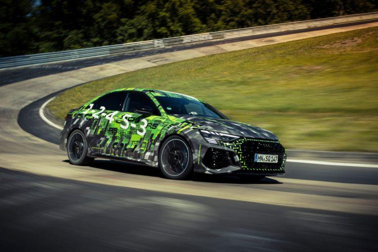 クルマ | 新型アウディRS3がニュルブルクリンクのクラス最速モデルに。7分40秒748をマーク